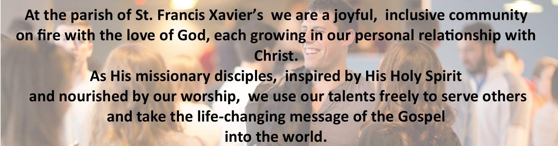 The Parish of St Francis Xavier's